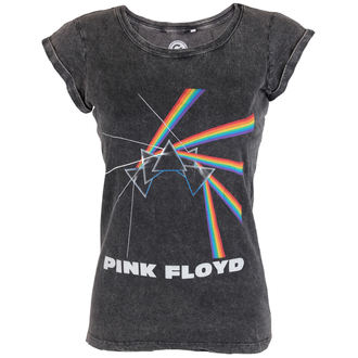 tričko dámské Pink Floyd - Multi Logo Acid - ROCK OFF, ROCK OFF, Pink Floyd