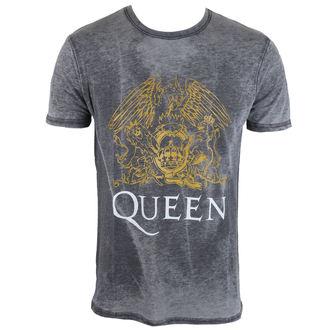 tričko pánské Queen - Crest - ROCK OFF, ROCK OFF, Queen