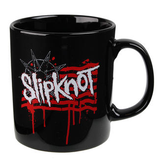 hrnek Slipknot - Dripping Flag And Logo - ROCK OFF, ROCK OFF, Slipknot