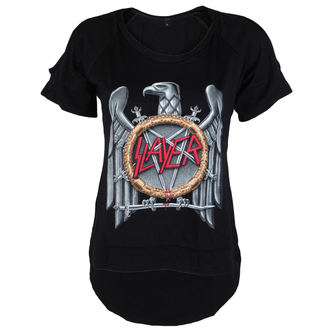 tričko dámské Slayer - Silver Eagle Cut Out Tee - ROCK OFF, ROCK OFF, Slayer