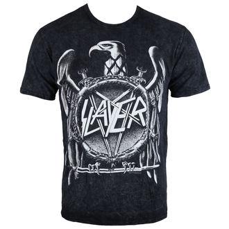 tričko pánské Slayer - Hi Contrast Eagle Puff Print - ROCK OFF, ROCK OFF, Slayer