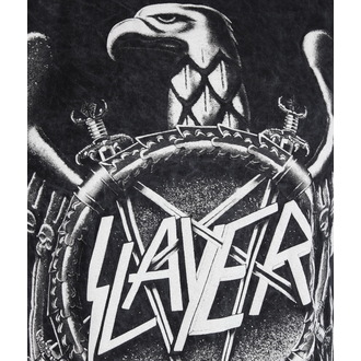 tričko pánské Slayer - Hi Contrast Eagle Puff Print - ROCK OFF, ROCK OFF, Slayer