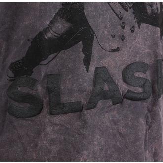 tričko pánské Slash - Snowblind Acid Wash Puff Print - ROCK OFF