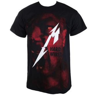 tričko pánské Metallica - Hardwired Jumbo - RTMTLTSBHAR