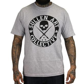 tričko pánské SULLEN - All Day - Heather/Grey Black, SULLEN