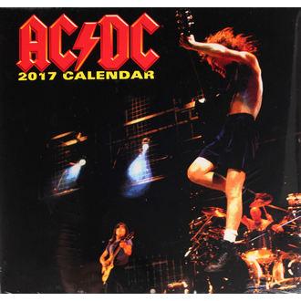kalendář na rok 2017 - AC/DC, AC-DC