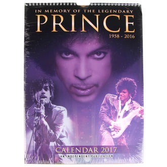 kalendář na rok 2017 - Prince - DRM-051