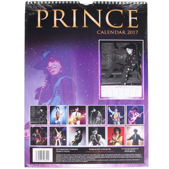 kalendář na rok 2017 - Prince, NNM