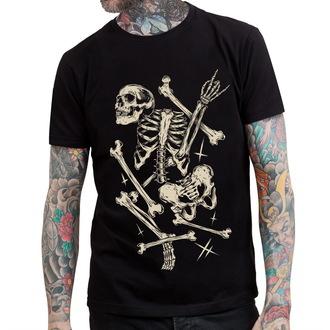 tričko pánské HYRAW - Deadly Bones