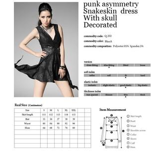 šaty dámské PUNK RAVE - Pandora