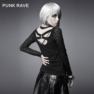 tričko dámské s dlouhým rukávem PUNK RAVE - Black Metal - T-324_B