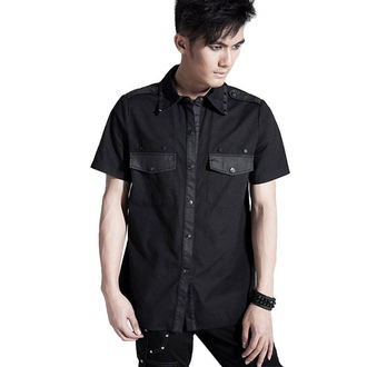 košile pánská PUNK RAVE - Black Order - Y-437_B