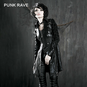kabát dámský PUNK RAVE - Poisonblack, PUNK RAVE