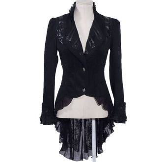 kabátek (sako) dámský PUNK RAVE - UMBRA - BLACK - SP020_B
