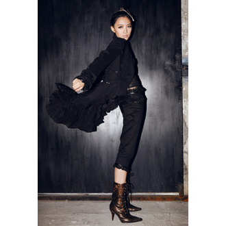 kabátek (sako) dámský PUNK RAVE - UMBRA - BLACK