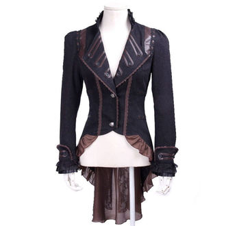 kabátek (sako) dámský PUNK RAVE - UMBRA - BROWN - SP020_B/CO