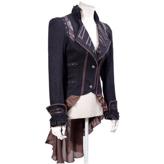 kabátek (sako) dámský PUNK RAVE - UMBRA - BROWN, PUNK RAVE