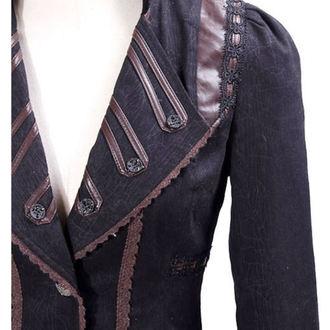 kabátek (sako) dámský PUNK RAVE - UMBRA - BROWN