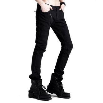 kalhoty pánské PUNK RAVE - Black Engine, PUNK RAVE