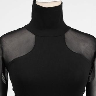 šaty dámské PUNK RAVE - Fatal Kiss