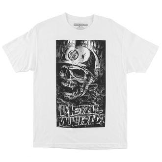 tričko pánské METAL MULISHA - Shredded - FA6518026.01_WHT