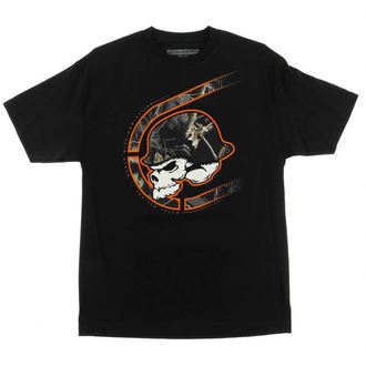 tričko pánské METAL MULISHA - Black Out - FA6518011.01_BLK
