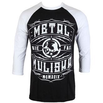 tričko pánské s 3/4 rukávem METAL MULISHA - Signal - FA6519007.01_BLK