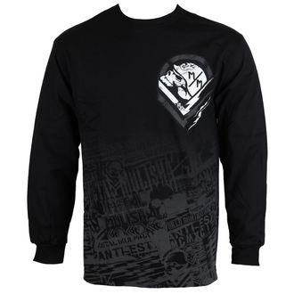 tričko pánské s dlouhým rukávem METAL MULISHA - Electric - FA6519005.01_BLK