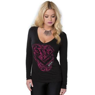 tričko dámské s dlouhým rukávem METAL MULISHA - Protect - FA6719001.01_BLK
