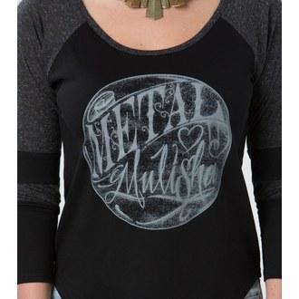 tričko dámské s 3/4 rukávem METAL MULISHA - Eye To Eye - FA6703004.01_BLK