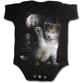 body dětské SPIRAL - WOLF PUPPY