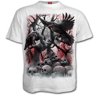 tričko pánské SPIRAL - DARK ROOTS - White