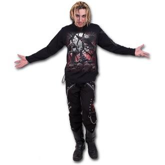 tričko pánské s dlouhým rukávem SPIRAL - DARK ROOTS - Black