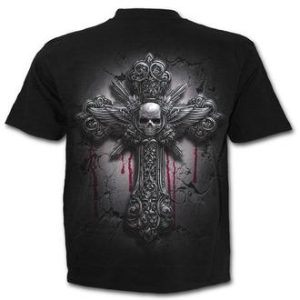 tričko pánské SPIRAL - DEAD HAND - Black - M022M101