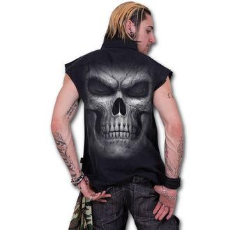 košile pánská bez rukávů SPIRAL - SHADOW MASTER - Black