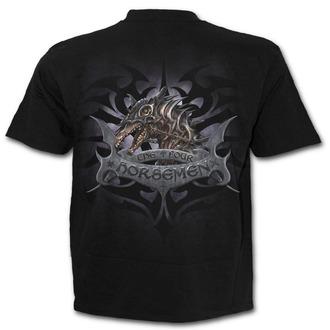 tričko pánské SPIRAL - 4 HORSEMEN - Black - T132M101