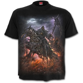 tričko pánské SPIRAL - 4 HORSEMEN - Black