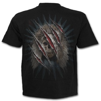 tričko pánské SPIRAL - BEAR CLAWS - Black - T134M101