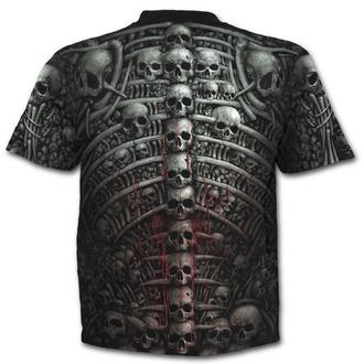 tričko pánské SPIRAL - DEATH RIBS - Black - PLUSE SIZE - W027M126
