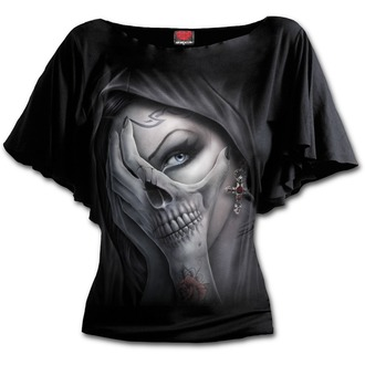 tričko dámské SPIRAL - DEAD HAND - Black
