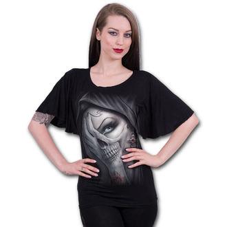 tričko dámské SPIRAL - DEAD HAND - Black - M022F719