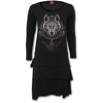 šaty dámské SPIRAL - WOLF DREAMS, SPIRAL