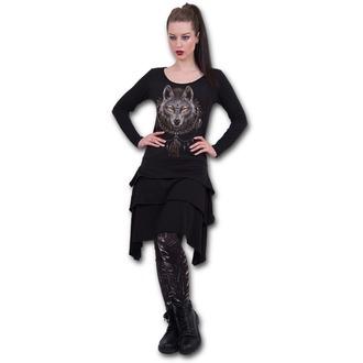 šaty dámské SPIRAL - WOLF DREAMS - T035F133