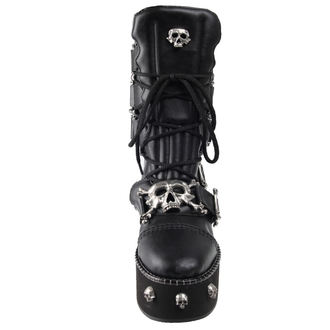 boty Alchemy Gothic - I DIETH-SKULL - STEELGROUND, ALCHEMY GOTHIC