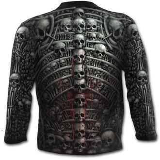 tričko pánské s dlouhým rukávem SPIRAL - DEATH RIBS - PLUS SIZE