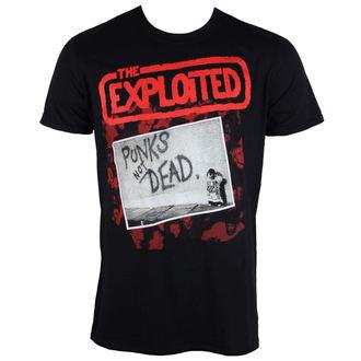 tričko pánské Exploited - The Punks Not Dead - PLASTIC HEAD