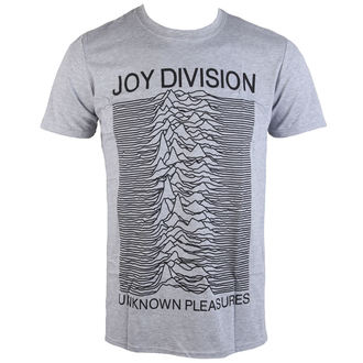 tričko pánské Joy Division - Unknown Pleasures - Grey - PLASTIC HEAD, PLASTIC HEAD, Joy Division