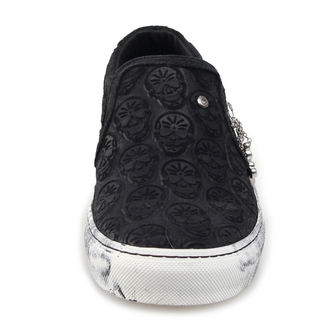 boty STEELGROUND - GOTH - SLIP-ON, STEELGROUND