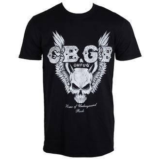 tričko pánské CBGB - Skull Wings - PLASTIC HEAD