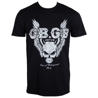 tričko pánské CBGB - Skull Wings - PLASTIC HEAD - PH9533